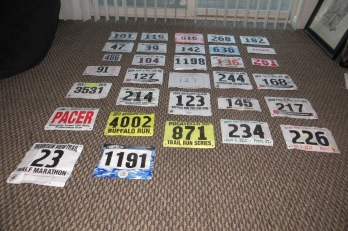 What do you do with all your bib numbers?